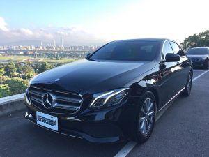 🚙【車款介紹】賓士E-Class(W213) 四人座 - 中大型豪華房車的新基準🚙